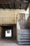 Varzi (Pavia), old buildings Stock Photos