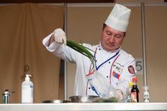 8vas competencias internacionales que cocinan Southern Europe Fotos de archivo