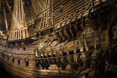 Vasa военного корабля Стоковое Изображение