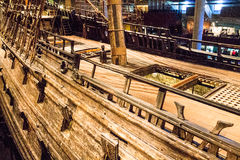 Vasa Historical Wood Ship Royalty Free Stock Images