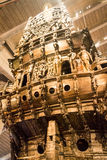Vasa-historisches hölzernes Schiff stockfoto