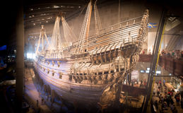 Vasa museum ship in Stockholm, Sweden. Stock Images