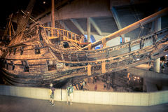 Vasa museum ship in Stockholm, Sweden. Stock Photo