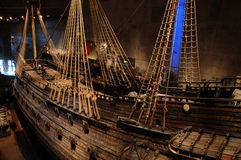 Vasa museum in Stockholm. Sweden, the Vasa museum in Stockholm Stock Images