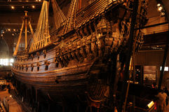 Vasa museum in Stockholm Royalty Free Stock Image