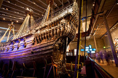 Vasa museum in Stockholm, Sweden Royalty Free Stock Images