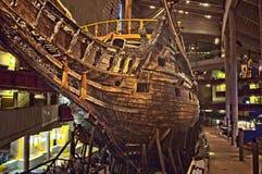 Vasa okrętu wojennego szczątki w Sztokholm Fotografia Royalty Free
