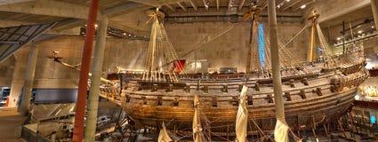 Vasa okręt wojenny w Sztokholm Obrazy Stock