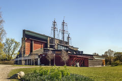 Vasa ship Museum, Stockholm. The Vasa Museum is a maritime museum in Stockholm, Sweden. The museum displays the only almost fully intact 17th century ship Royalty Free Stock Photos