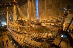 Vasamuseum i Stockholm, Sverige Arkivbilder