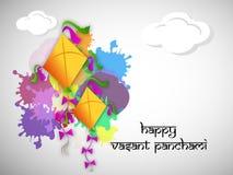 Vasant Panchami background. Illustration of elements for Vasant Panchami Stock Images