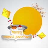 Vasant Panchami background Royalty Free Stock Photos