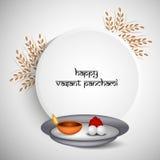 Vasant Panchami background Royalty Free Stock Images