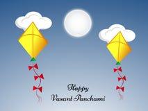 Vasant Panchami background Stock Image