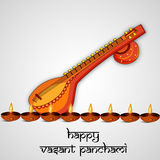 Vasant Panchami background Royalty Free Stock Photo