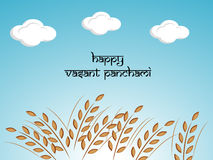 Vasant Panchami background Stock Photo