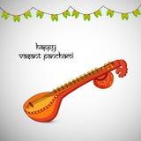 Vasant Panchami-Hintergrund Lizenzfreie Stockfotografie