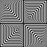 Vasarelly optical effect. Royalty Free Stock Photo