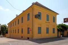 Vasarely博物馆在佩奇匈牙利 图库摄影