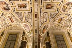 Vasari chapel in Sant'Anna dei Lombardi church, Naples, Italy Stock Photo