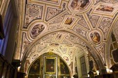 Vasari chapel in Sant�Anna dei Lombardi church, Naples, Italy Stock Photos