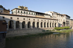Vasari Corridor Royalty Free Stock Images