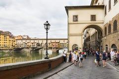 Vasari corridor Stock Photography