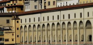 Vasari's corridor Royalty Free Stock Photos