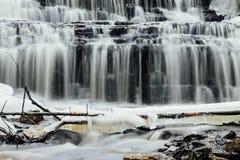 Vasaristi cascade closeup, Lahemaa, Estonia Royalty Free Stock Images
