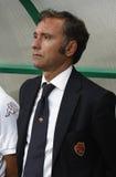 Vasas contre COMME Roma (0 : 1) parties de football Photos stock