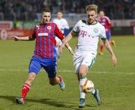 Vasas - de voetbalwedstrijd van de de Bankliga van Ferencvaros OTP Royalty-vrije Stock Fotografie