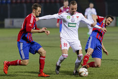 Vasas - DVSC-TEVA OTP Bank League football match Royalty Free Stock Image
