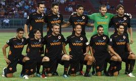 Vasas versus ALS Rome (0: 1) voetbalspel Royalty-vrije Stock Fotografie