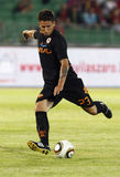 Vasas vs. AS Roma (0:1) football game Royalty Free Stock Photo