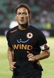 Vasas vs. AS Roma (0:1) football game Royalty Free Stock Photography