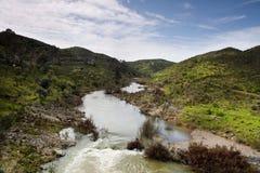 Vascão river Stock Photo