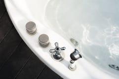 Vasca da bagno della Jacuzzi Fotografia Stock