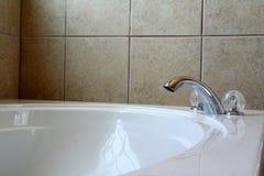 Vasca da bagno di lusso Fotografie Stock Libere da Diritti