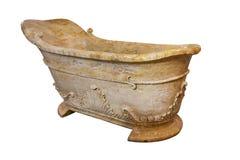 Vasca da bagno di marmo Fotografie Stock