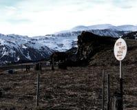 Vasche calde in Islanda Fotografia Stock