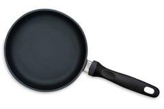 Vaschetta di frittura (con il percorso) immagini stock