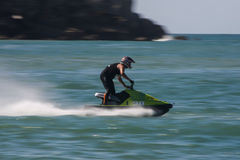 Vasco Brito in Gran Prix of Jet Ski 2012 Royalty Free Stock Photo