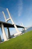 Vasco DA gama-Brücke Lizenzfreie Stockfotografie