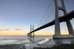 Vasco da Gama Bridge Stock Image