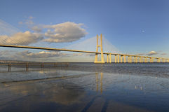 Vasco da Gama Bridge Stock Images