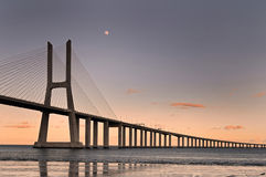 Vasco da Gama Bridge Royalty Free Stock Photos