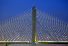 Vasco da Gama bridge, Biggest bridge of Europe Stock Photo