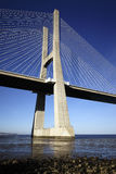 The Vasco da Gama bridge in Lisbon Stock Photo