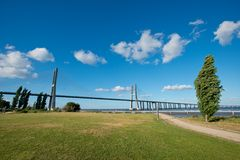 Vasco da Gama Bridge Stock Photography