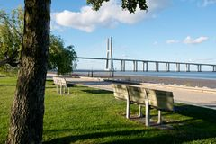 Vasco da Gama Bridge Stock Photos